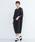 merlot plus(メルロープリュス)の「袖レースワンピース8365(ワンピース)」|ブラック