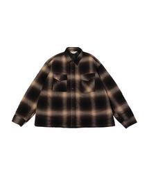 <JieDa> OMBRE PADDED SHIRT/パデッドシャツ