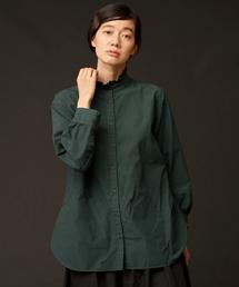 Malle(マル)のmalle 60s コットン スタンドタックシャツ(シャツ/ブラウス)