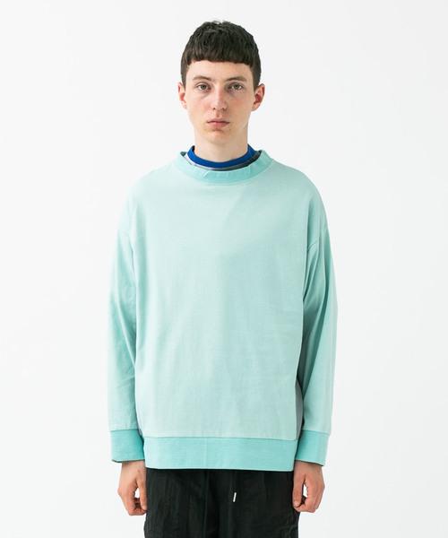 安い 【ADANS】SIDE NYLON L NYLON/S L/S TEE(Tシャツ/カットソー)|ADANS(アダンス)のファッション通販, ヘルシー救急BOX:cc7542c1 --- 888tattoo.eu.org