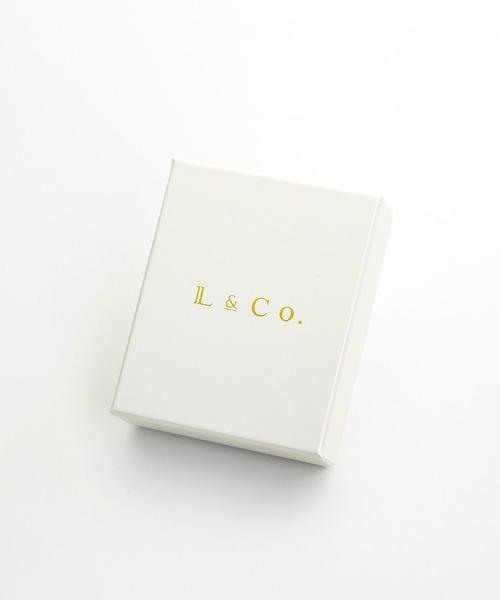 Jewel closet by L&Co.(ジュエルクローゼットバイエルアンドコー)の「K18 ムーンストーン ピアス(ピアス(両耳用))」|詳細画像