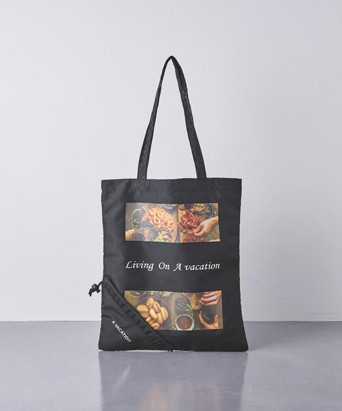 <A VACATION(ア ヴァケーション)>POCKETABLE BAG-united LOVE project 2021†◆