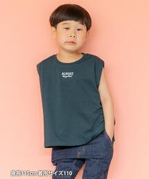 【coen キッズ/ジュニア】刺繍ノースリーブTシャツ
