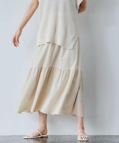 FFC シングル ティアード スカート