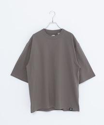 USAコットン5分袖Tシャツオリーブ