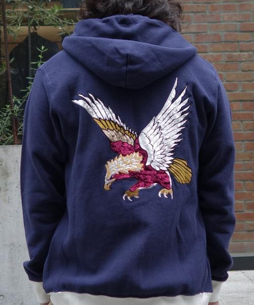 【レビューで送料無料】 Eagle Zip Parka/ Parka Zip/ イーグルジップパーカー(パーカー)|ALDIES(アールディーズ)のファッション通販, 碇ヶ関村:51e77f3f --- skoda-tmn.ru