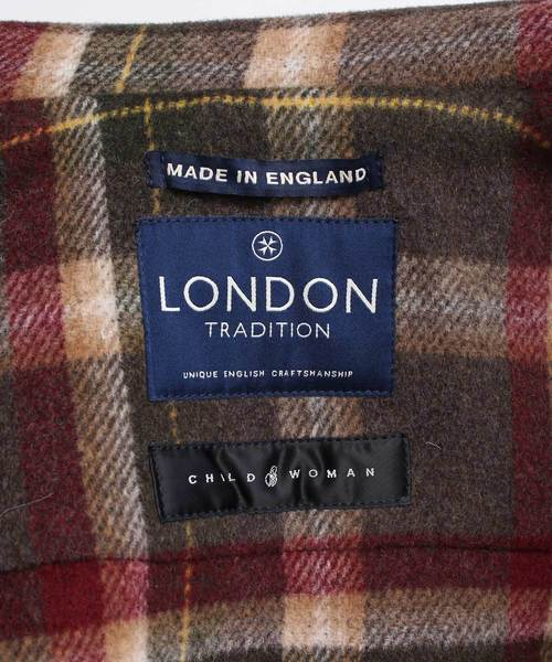 LONDON TRADITION(ロンドントラディション)の「●【WEB限定カラー】London Tradition ロングダッフルコート(ダッフルコート)」|詳細画像