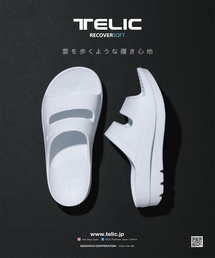TELIC(テリック)の【TELIC】テリック Wストラップ 厚底/サンダル(サンダル)