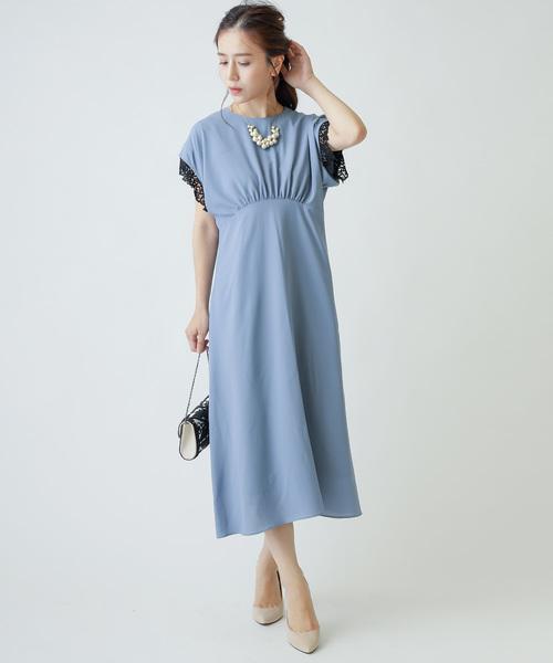 卸し売り購入 エンパイアライン 2wayレーススリーブ PARADIS 2wayレーススリーブ ドレス(ドレス)|PARADIS TERRE(パラディテール)のファッション通販, ウォールステッカーCreative Style:5c325aa2 --- 5613dcaibao.eu.org