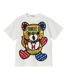 PATCH BEAR Tシャツ【XS/S/M】アイボリー