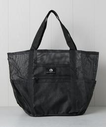 <SALTWATER CANVAS>MESH TOTE BAG/バッグ