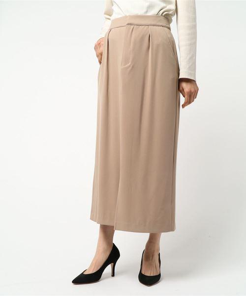 バックリボンロングスカート