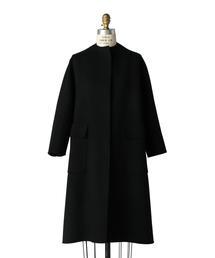 Drawer ドロップスリーブブラックコート