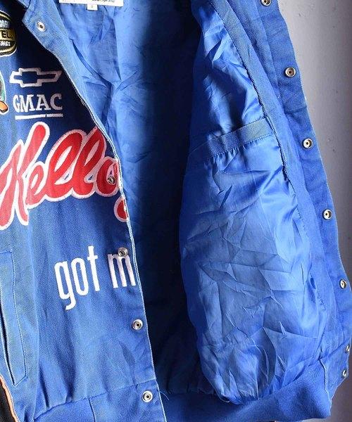 【ヴィンテージ古着】ジェフハミルトン製 'Kellogg's' レーシングジャケット