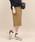 ROPE' mademoiselle(ロペマドモアゼル)の「【ドラマ着用】ストライプコクーンタイトスカート(スカート)」|ブラウン系その他2