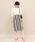 ROPE' mademoiselle(ロペマドモアゼル)の「【ドラマ着用】ストライプコクーンタイトスカート(スカート)」|詳細画像