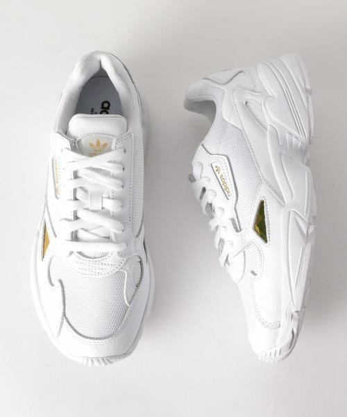 <adidas Originals(アディダス)>FALCON ファルコン レザースニーカー