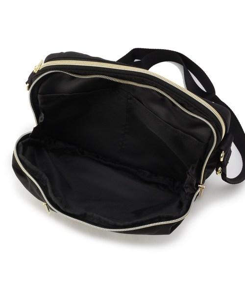 メッシュポケット付きマルチミニショルダーバッグ