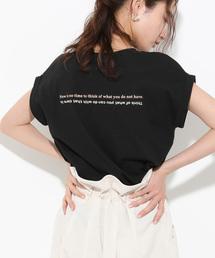ViS(ビス)のアソートロゴプリントTシャツ(Tシャツ/カットソー)