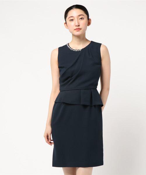 【開店記念セール!】 【セール】ドレープタックドレス 結婚式/二次会/お呼ばれワンピース(ドレス)|LAISSE PASSE(レッセパッセ)のファッション通販, ウグイスザワチョウ:5f033d5b --- steuergraefe.de