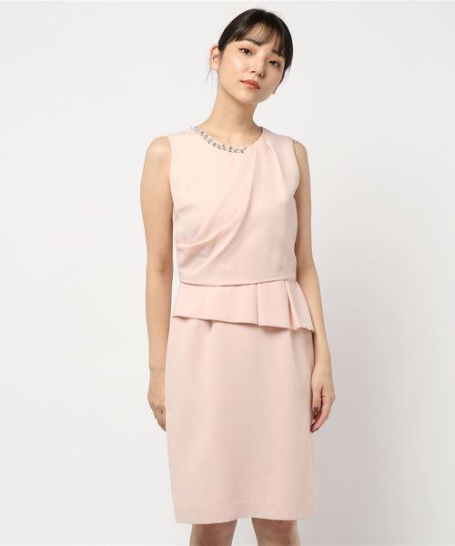 【2019春夏新作】 【セール】ドレープタックドレス 結婚式/二次会/お呼ばれワンピース(ドレス) LAISSE PASSE(レッセパッセ)のファッション通販, リアライザー:37aeebd7 --- steuergraefe.de