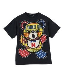 PATCH BEAR Tシャツ【L】ブラック