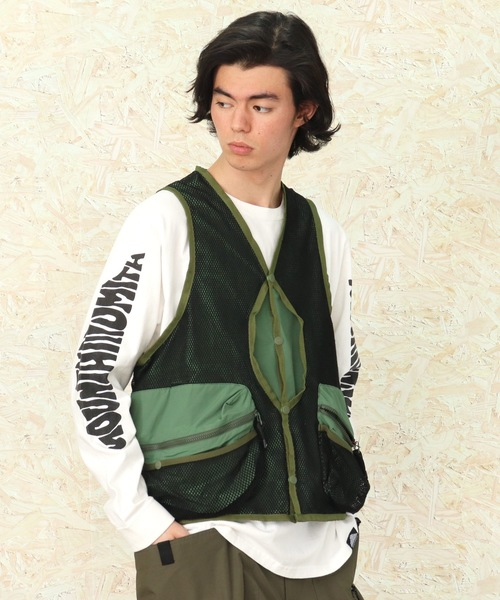【MOUNTAIN SMITH/マウンテンスミス】2020SS Jackson Reversible VEST