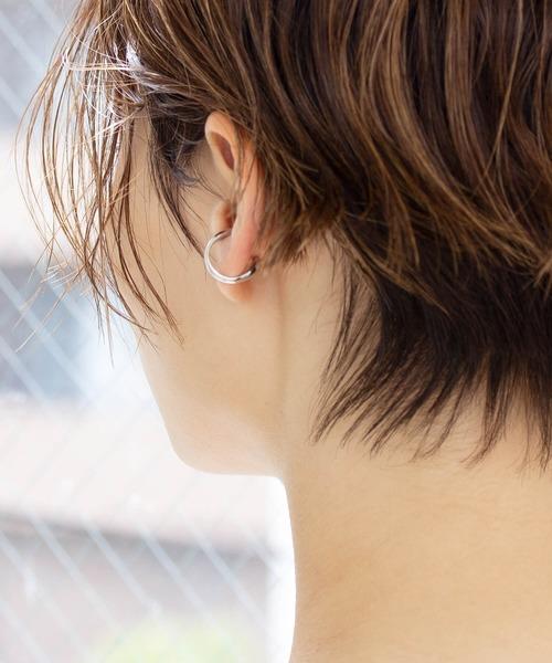 <CYCRO>SV925 片耳ボリュームイヤーカフ (小)