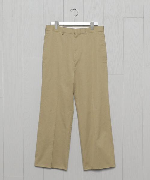 <H>SATIN PIPEDSTM WIDE PANTS/パンツ