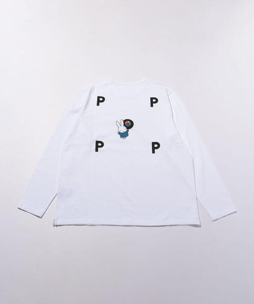 【別注】 <POP TRADING COMPANY> Miffy 12 BALL/ カットソー
