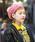 無(ム)の「ボンボンニットベレー(ハンチング/ベレー帽)」|ピンク