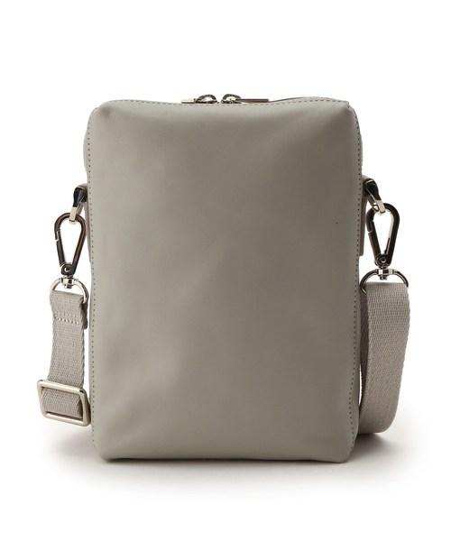 イタリアンレザーボックスショルダーバッグ