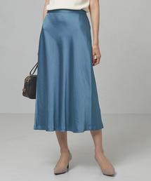 <closet story>マットサテン マーメイドスカート