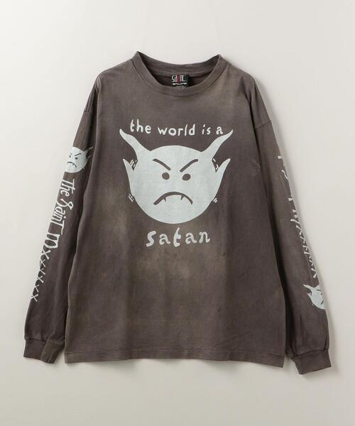 <SAINT M××××××(セント マイケル)> SATAN/Tシャツ■■■