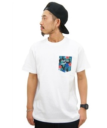DOUBLE STEAL(ダブルスティール)のPocket Night Aloha Tシャツ(Tシャツ/カットソー)