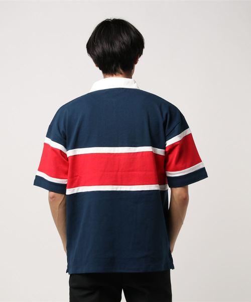 AZIONE/アジオネ/切り替えビッグラガーシャツ