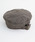 merlot(メルロー)の「ウール混ヘリンボーン柄ベルト付きベレー帽8112(ハンチング/ベレー帽)」 ブラウン