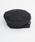 merlot(メルロー)の「ウール混ヘリンボーン柄ベルト付きベレー帽8112(ハンチング/ベレー帽)」 ブラック