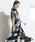 Emma Taylor(エマテイラー)の「【STYLEBAR】オリジナルフラワーラップドレス(ワンピース)」|ブラック系その他