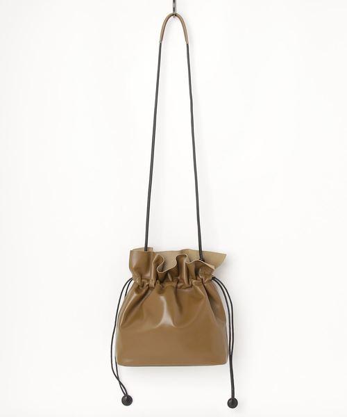 【海外限定】 レザードローストリングバッグ, jamboo e1fa617c