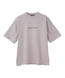 HYS LOGOモックネック オーバーサイズTシャツグレー