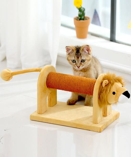 動物形キャットタワー猫用おもちゃ