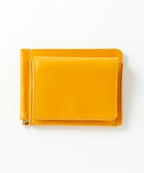 【GLENROYAL/グレンロイヤル】MONEY CLIP WITH COIN POCKET/マネークリップ (小銭入れ付)