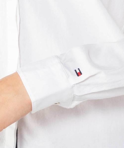 スター×ロゴ 刺繍 シャツ