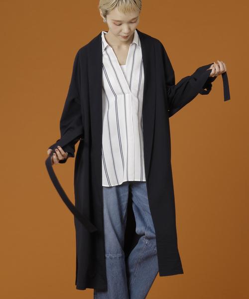 【在庫あり/即出荷可】 【セール】Soffitto/リネン調ライトコート(その他アウター)|soffitto(ソフィット)のファッション通販, フチュウシ:84f3dff1 --- tsuburaya.azurewebsites.net