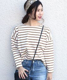 SHIPS Days(シップス デイズ)のSHIPS Days STANDARD:バスクボーダー カットソー 19SS ◆(Tシャツ/カットソー)