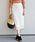 SHIPS(シップス)の「レースタイトスカート◆(スカート)」|オフホワイト