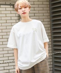 kutir(クティール)のウェーブロゴTシャツ(Tシャツ/カットソー)
