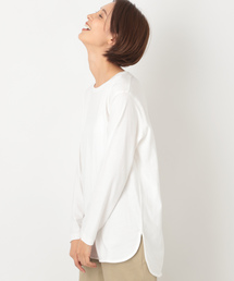 LEPSIM(レプシィム)のラウンドヘムロングTEE 853300(Tシャツ/カットソー)