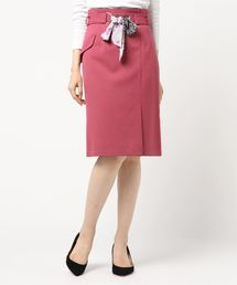 MISCH MASCH(ミッシュマッシュ)のスカーフベルトタイトスカート(スカート)
